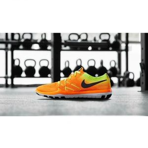Nike Free TR Focus Flyknit Women's Shoes - Orange